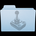 OS X Games Folder Icon PNG