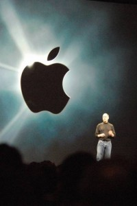 Steve Jobs at an Apple Keynote