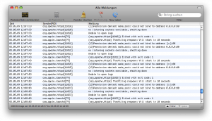 OS X Console.app Errors