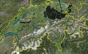 BP Oil Leak over Switzerland