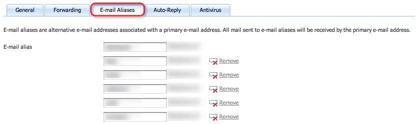 Stop E-Mail Spam use E-Mail Aliases