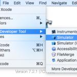 iOS Simulator Launcher 01 - Xcode default launch