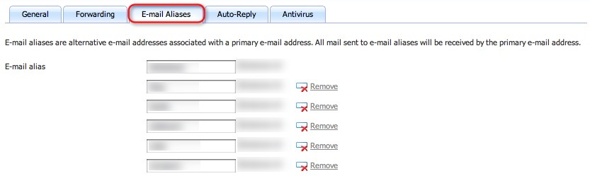 Stop E-Mail Spam use E-Mail Aliases
