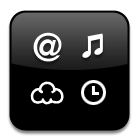 osx widget icon