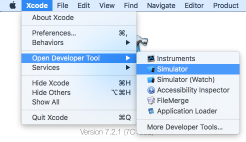 OS X: launcher for iOS Simulator and bypassing Xcode – Swiss
