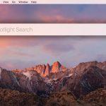 Spotlight window macOS - Thumbnail Image