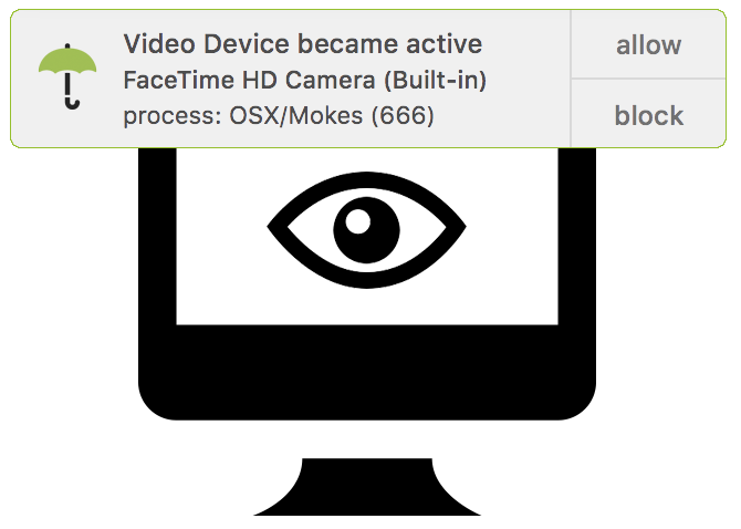 overSight macOS Video Device Activation Alert