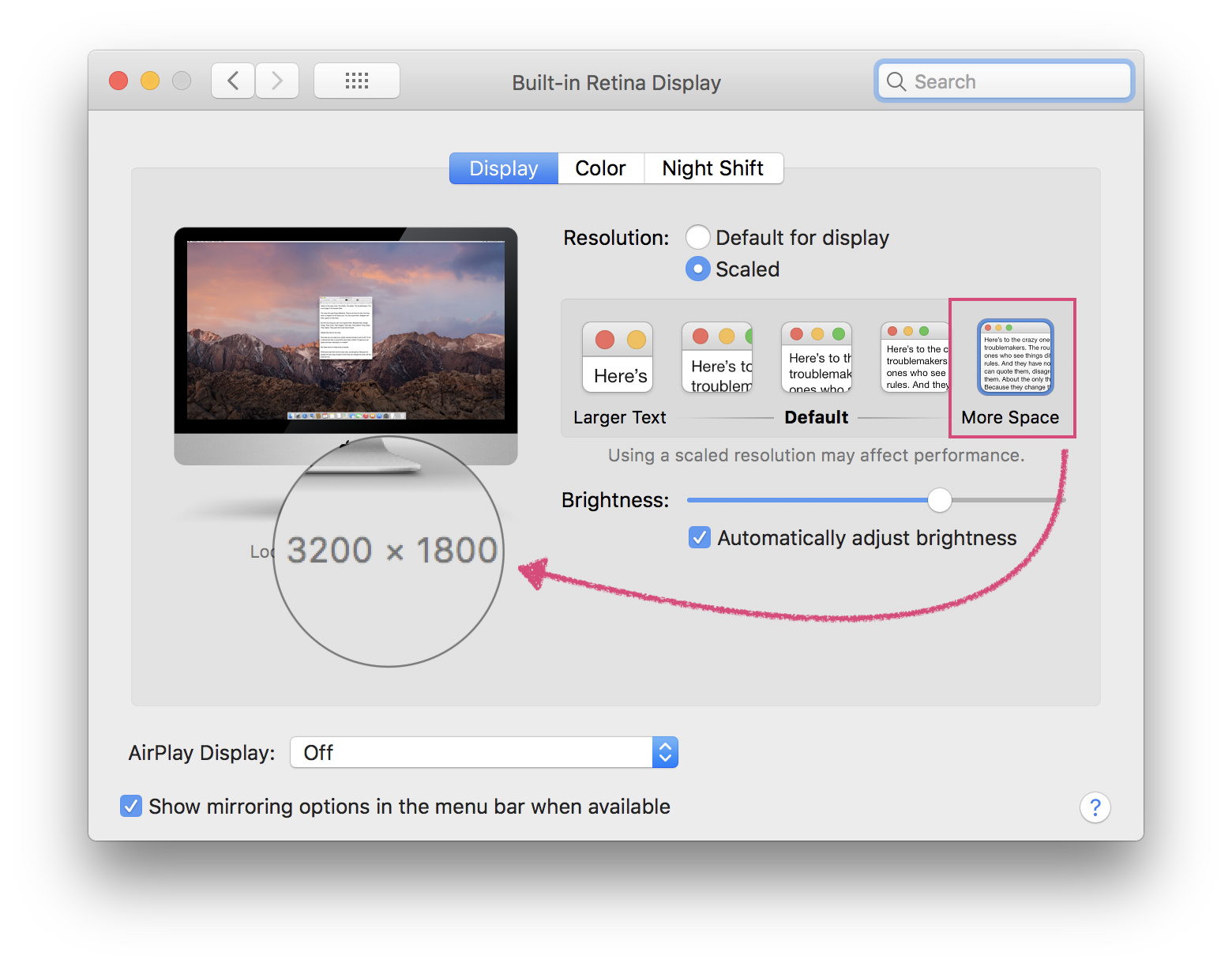 Got an iMac 4K or iMac 5K? This is how you can change to