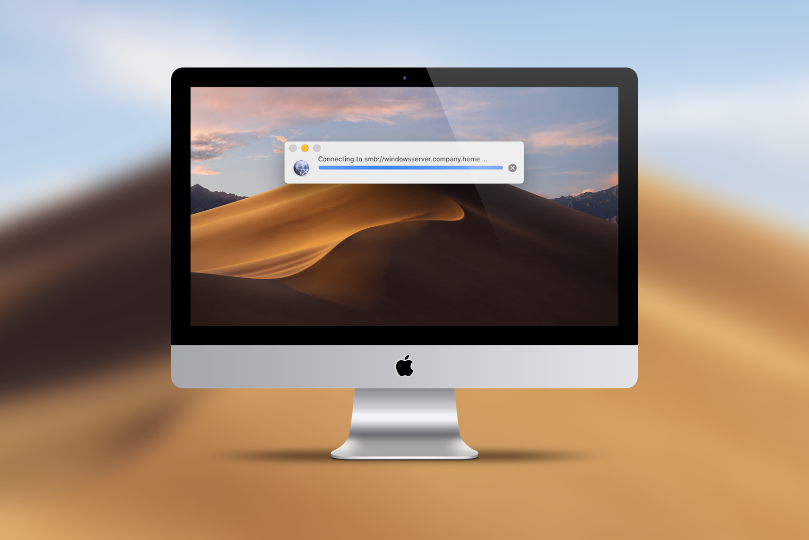 Connecting an SMB fileshare in macOS Mojave is not working