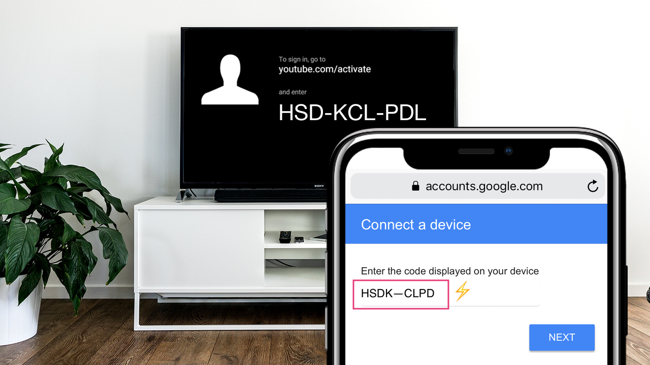 Linking YouTube account on Apple TV: activation code not accepted