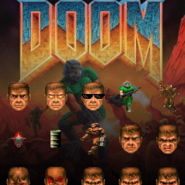 DOOM Sticker Pack Teaser Image