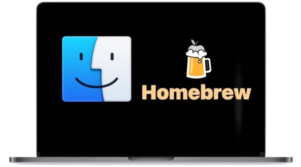 Photo showing Homebrew on macOS