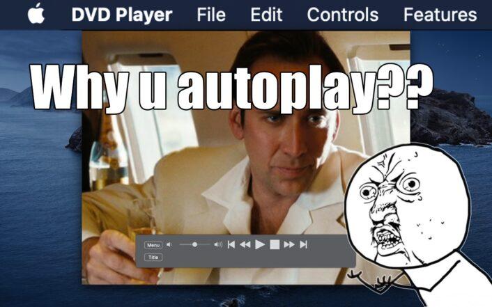 Teaser showing macOS DVD Player App