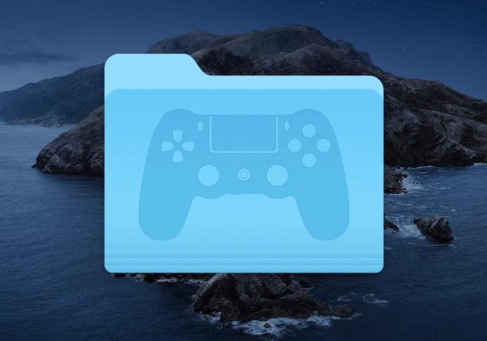 Teaser image showing Games Folder Icon for macOS